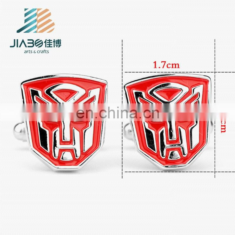 New design custom metal superhero exquisite cufflinks for men