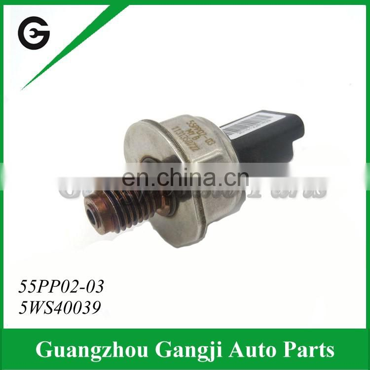 Car parts wholesale Sensata common rail pressure sensor 55PP02-03 5WS40039