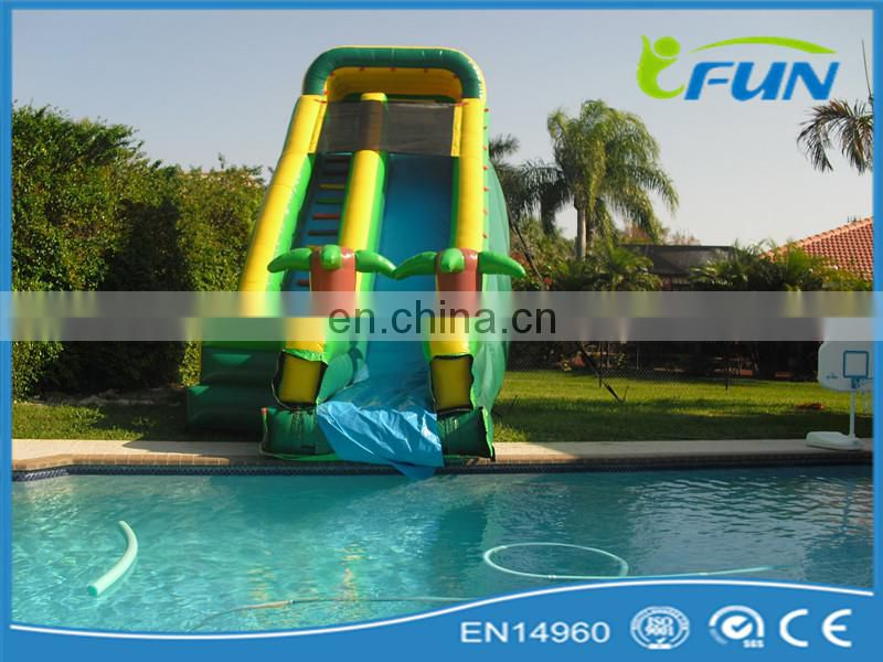 blue inflatable dry slide dry slide inflatable for kids and adults