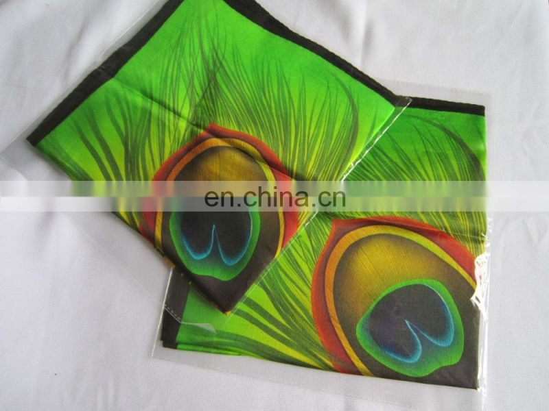 Factory Direct Luxury Custom Digital Printed digital silk scarf printing