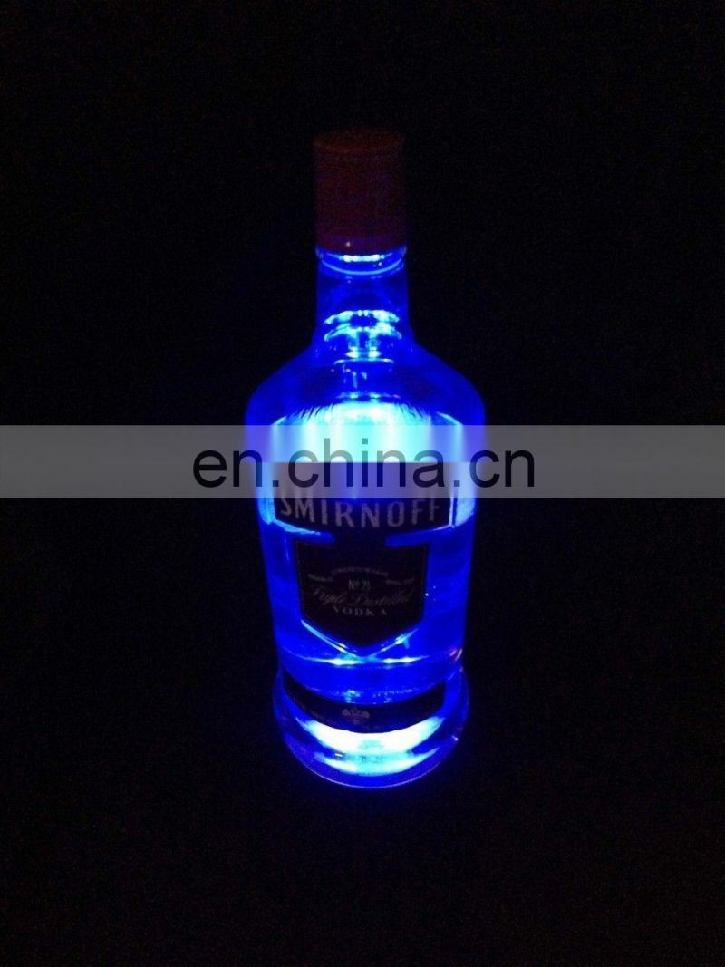 LED GLORIFIER MINI BOTTLE GLOW STICK ON COASTER