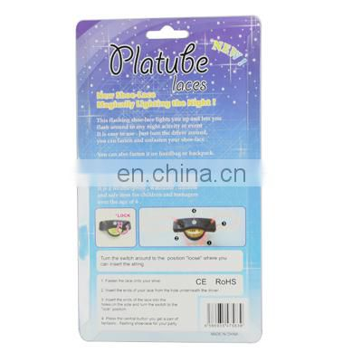 Platube Laces Magical Led Light Flashing ShoeLace