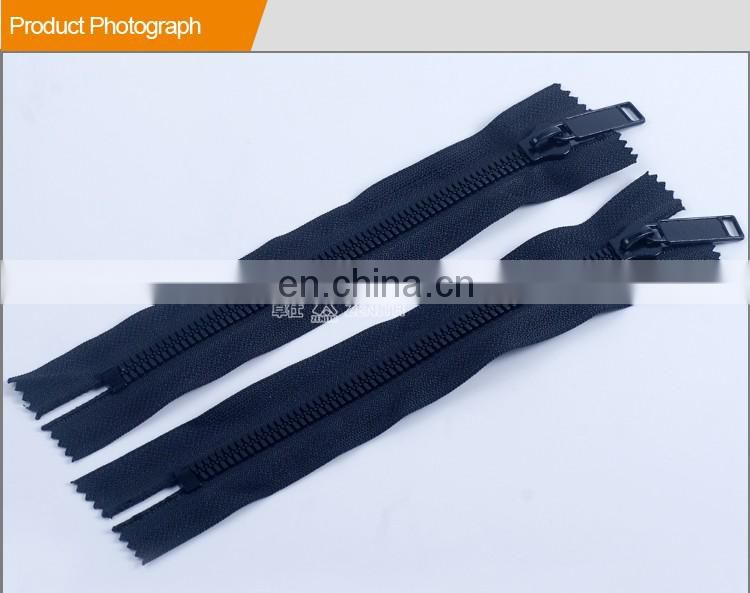 8# Fashion Derlin Thin Teeth Plastic Zipper ZP30001