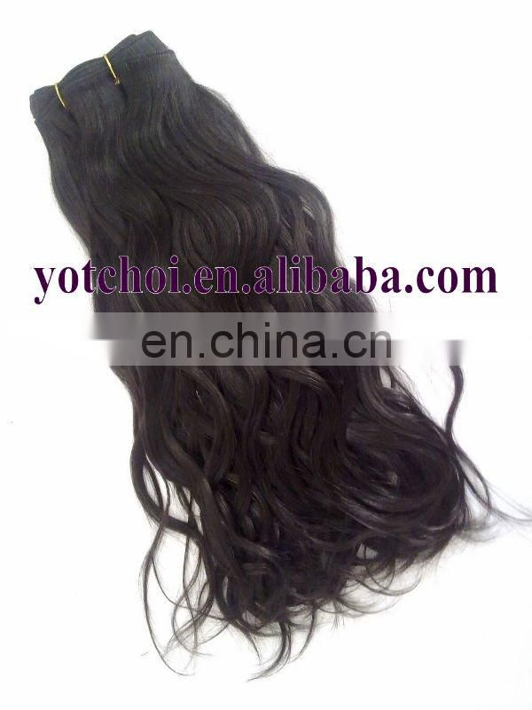 "18"" high quality all color and style remy virgin indian hair wholesale"
