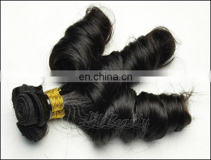 Silky straight light color hair braid clip in