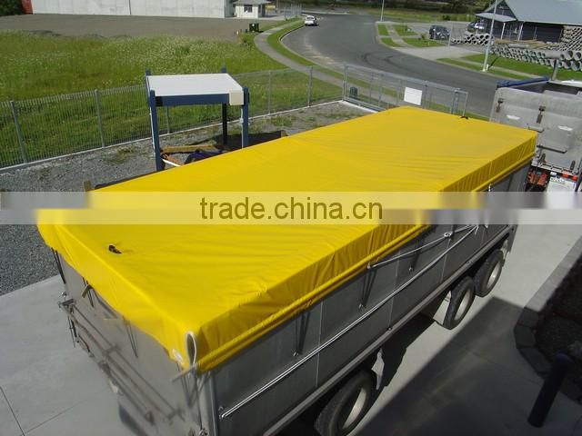 custom heavy duty pvc canvas tarpaulin for truck and trailer /boat and train cover