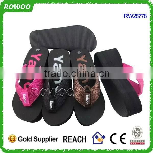 New Fashion Plush Slippers Lady flower printing Winter Slippers