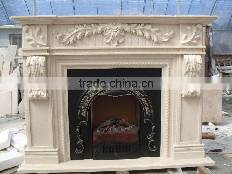 marble fireplace mantel indoor decorative italian fireplace NTMF-F829S