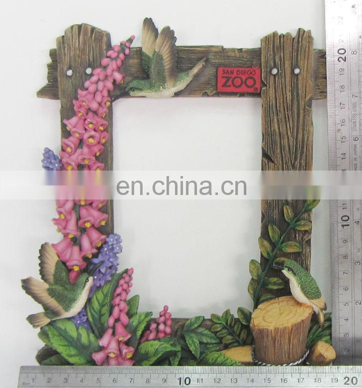 beautiful flower 3d reisn photo picture frame