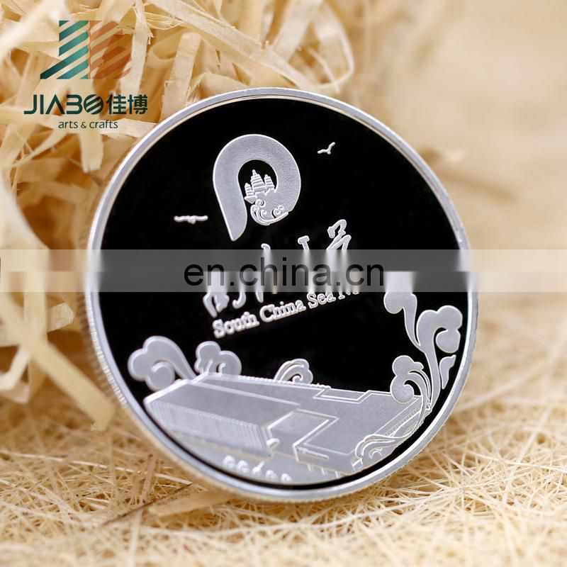 2018 years Souvenir silver replica metal medal honor coins with 3D effect