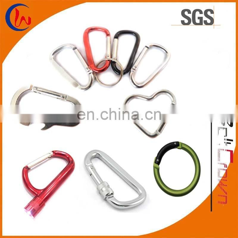 Key Tag Carabiner with Strap and PVC Patch