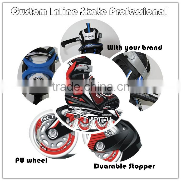 Adult Roller Skate Inline Skate Shoes for Skates High-end Adult Roller Skates Inline Skates with Roller Wheels Color box Packing