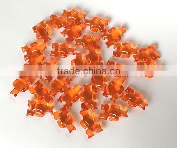 color bath oil beads