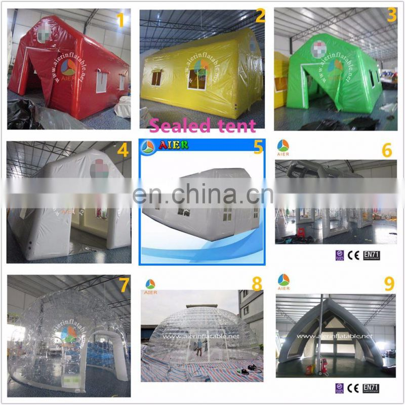 Customized design water proof event tent, transparent inflatable stage shell, stage cover for sale