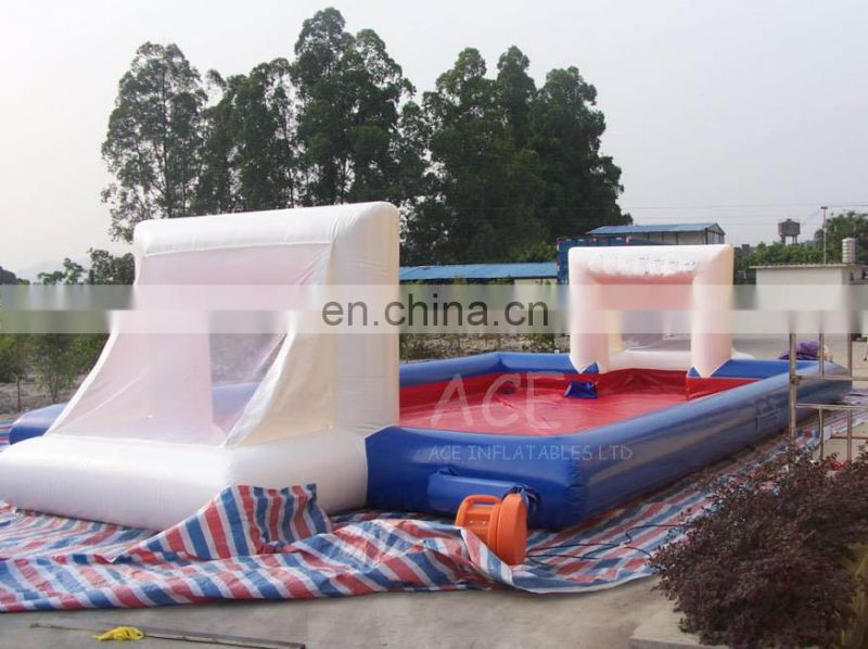 alibaba china market high quality inflatable football court for sale