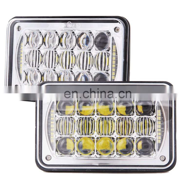 China 12v 24v 24w IP68 DOT SAE E9 Emark headlight led h4 led headlight bulbs for truck car