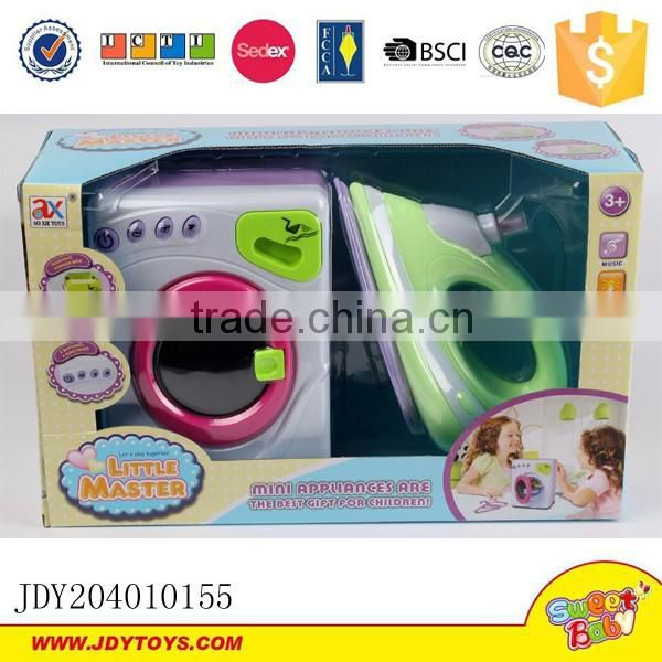 New products for home appliance for kids mini electric toy iron with vibration and spray water function