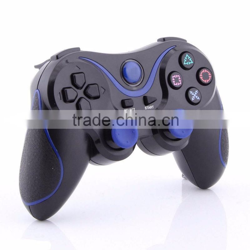 Blue and Black Wireless Bluetooth Sixaxis Controller for Sony PS3 Console GameBluetooth Sixaxis Controller