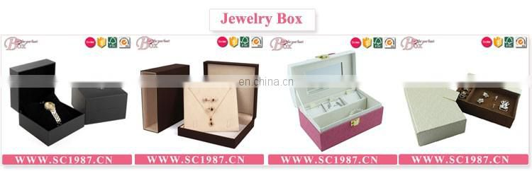 Luxury Cardboard Jewelry Box Custom Logo