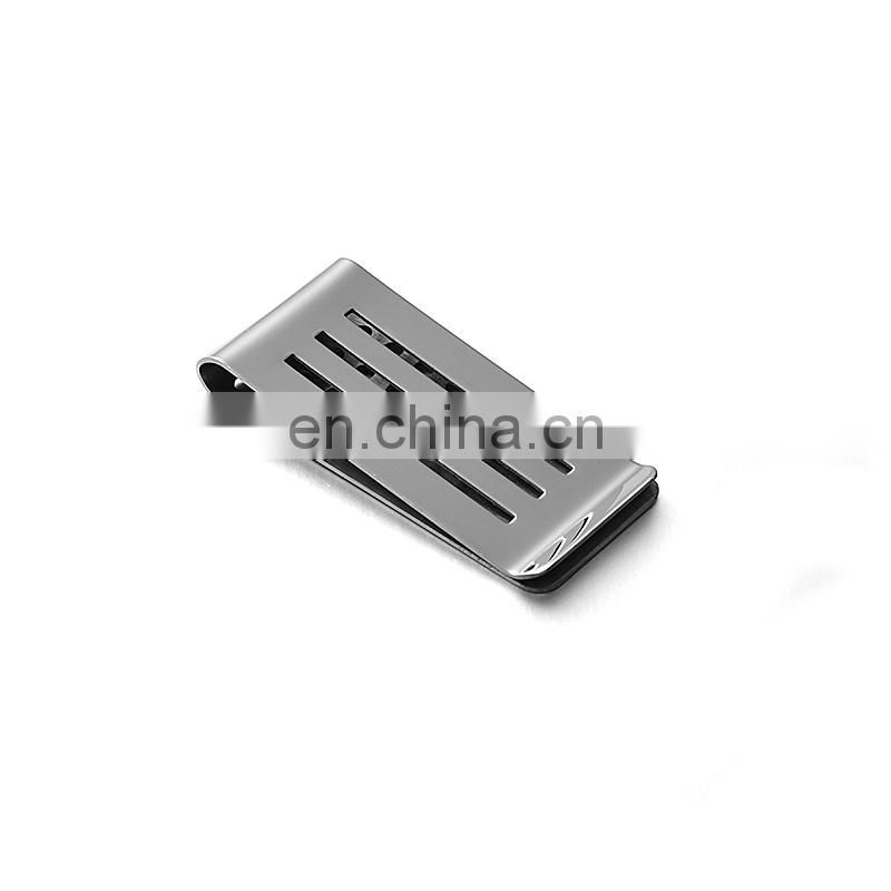 Metal money clip custom logo