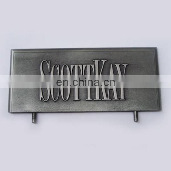 decorative embossed plaque metal plaque