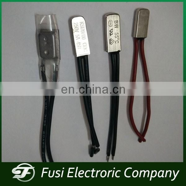 All kinds of Bimetal Temperature Switchs with UL VDE