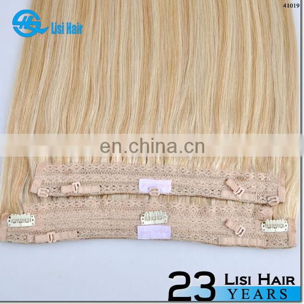 New Arrival Unprocessed Wholesale Top Quality Full Cuticle Brazilian Human Hair Fish Line Extension