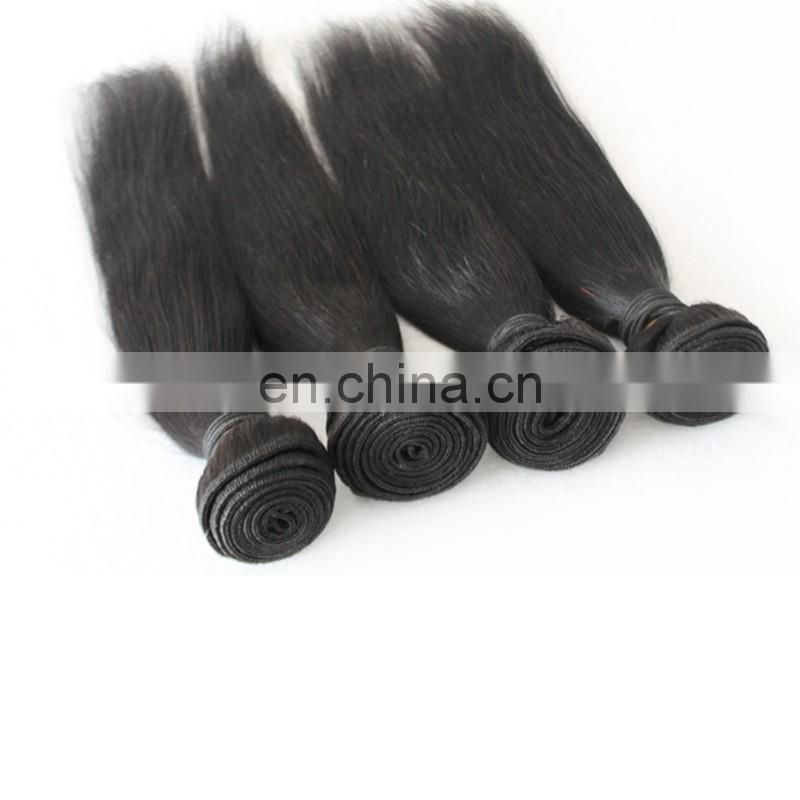 Raw virgin mongolian hair weaves remy 100 remy unprocessed straight human hair extensions