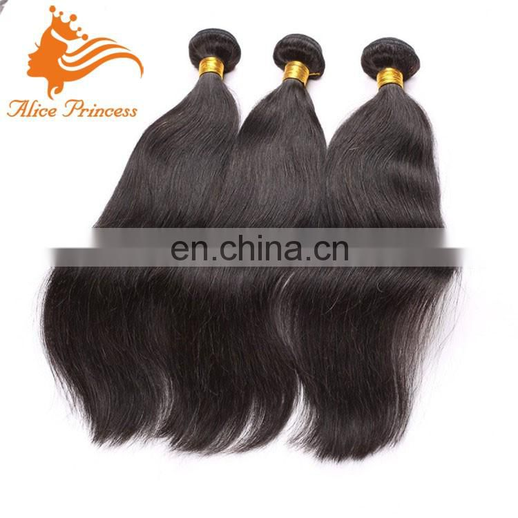 2016 New arrival best quality long silk straight 100%Hand Tied Virgin Indian Remy Hair Weft