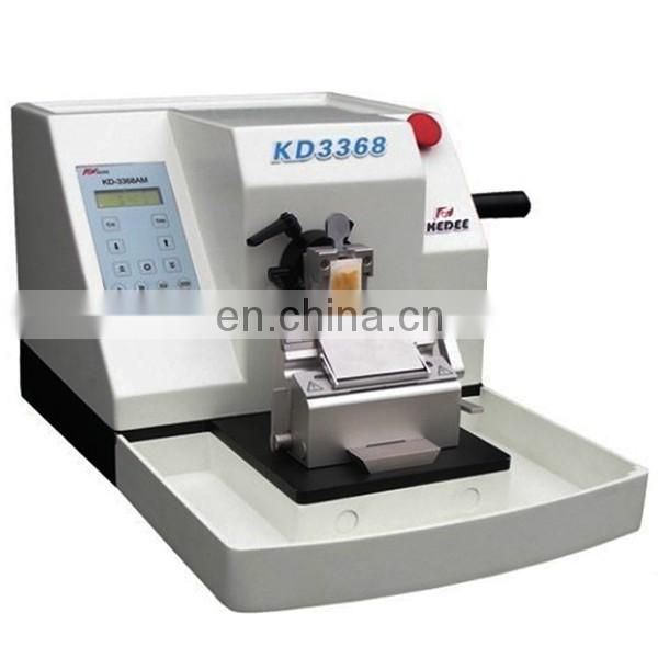 KD-3368 Pathology Lab Equipment Laboratory microtome  hard tissue microtome