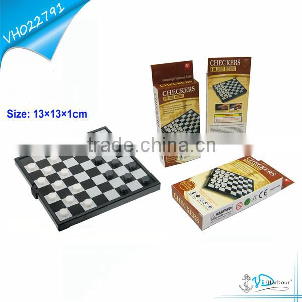Personalized Chess Set Tic Tac Toe with Folding Chess Table Board