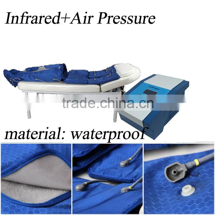CE Approved waterproof infrared Air Compression Therapy System Lymphatic Drainage Machine