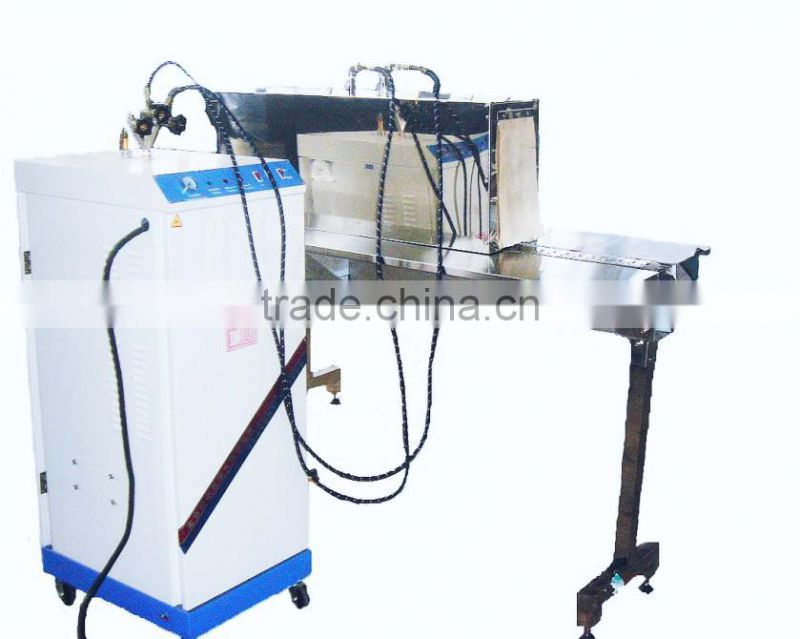 Label shrink packing machine and heat shrink sleeve labeling machine