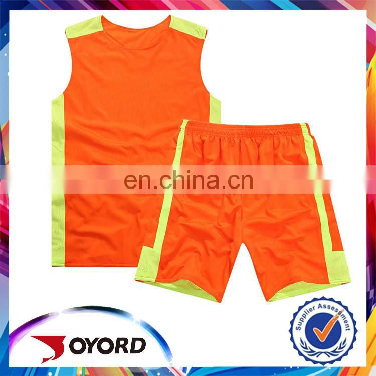 high quality hot selling basketball jersey suit
