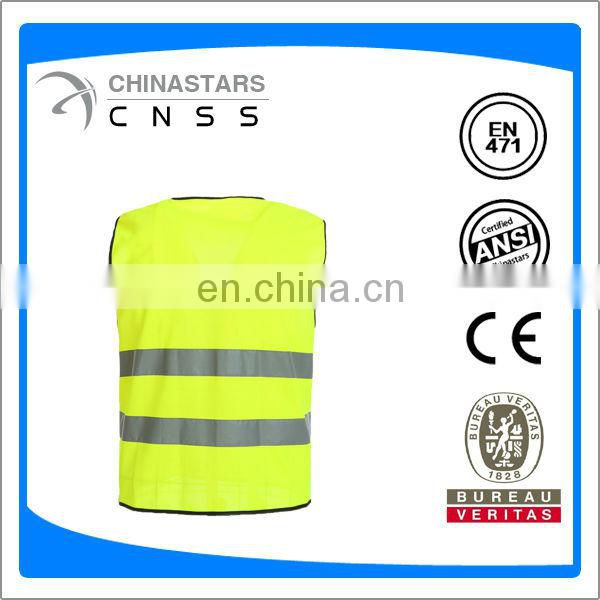 ANSI/ISEA 107-2010 Class 2 reflective safety vest