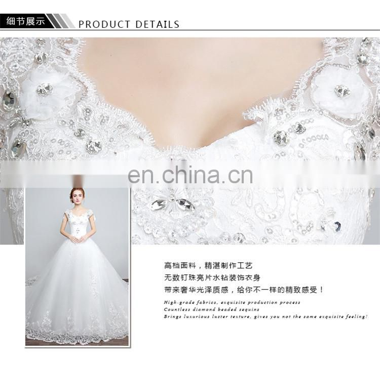 HS1606 Vintage Wedding dress Customized Plus size Beach Mermaid Bridal Gown