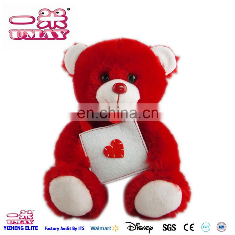 2016 Plush bear toy bear plush toy with bag soft stuffed toy for child kid 0514
