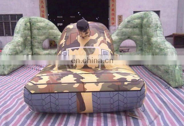 2012 Inflatable paintball bunkers