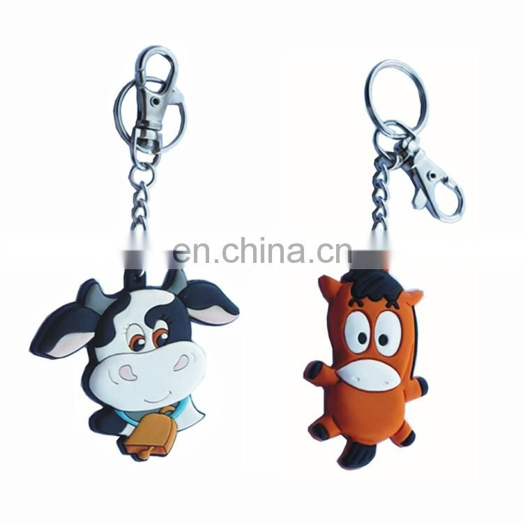 Pvc face changing innivative dubai keychains