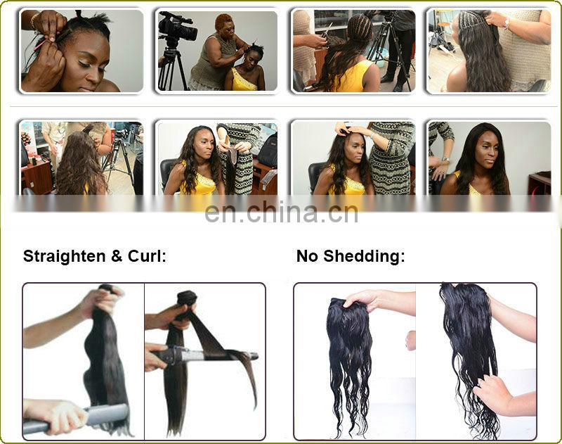 Wholesale 95g-105g hair extensions f For Women Body Wave, Straight, Deep Wave