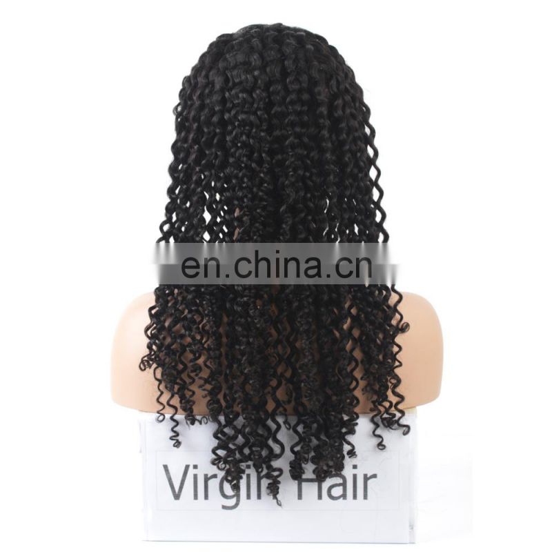 Wholesale lace front wigs afro kinky human hair wig