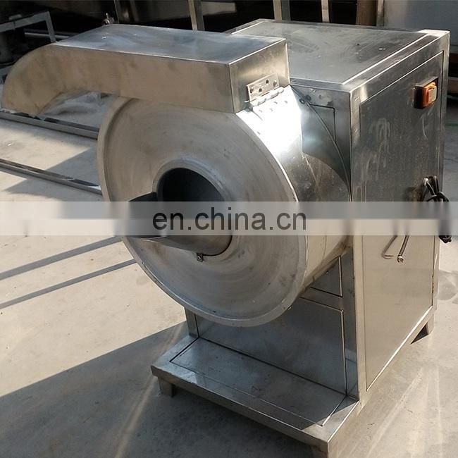 Multifunctional potato peeling and cutting machine vegetable cutting method