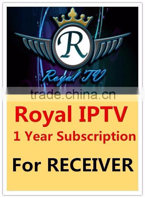 Tiger star receiver account 1 Year Subscription arabic iptv apk