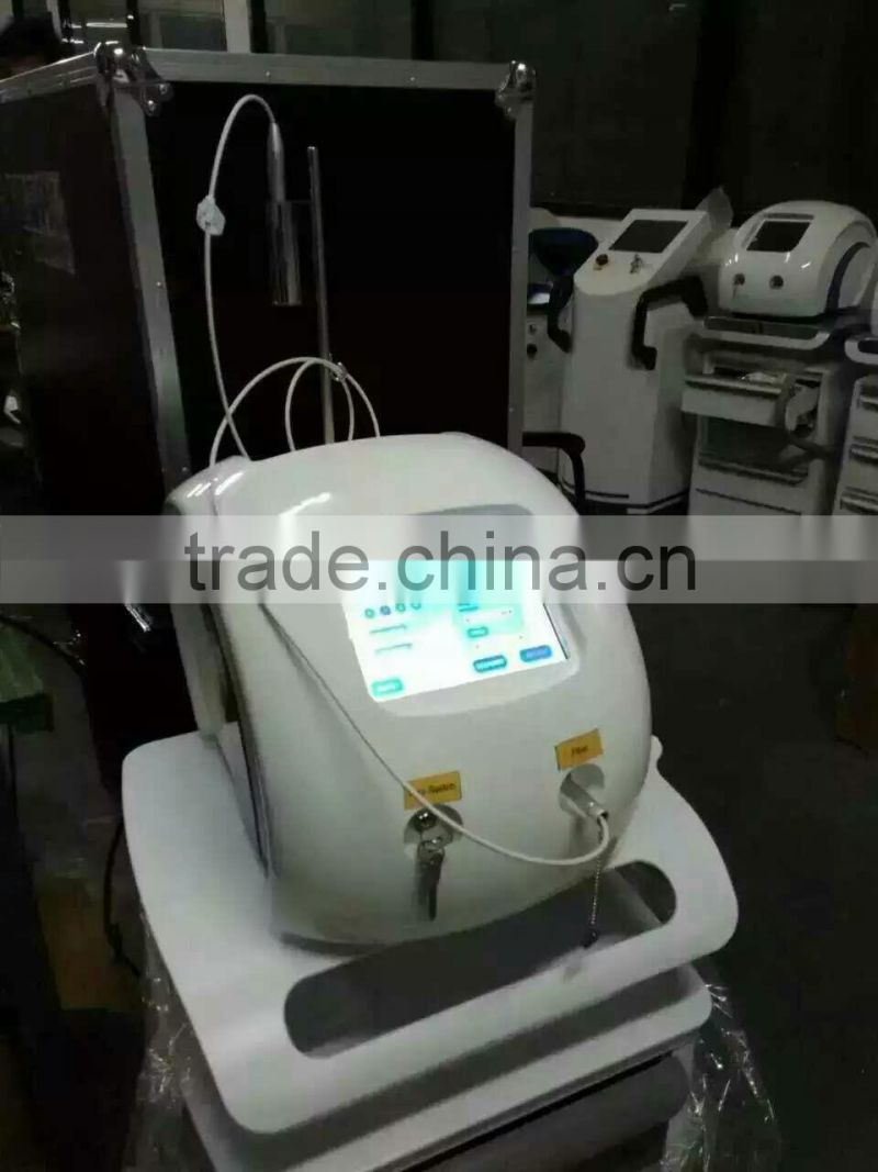 MSLVRO1-10Newest Product in 2017 30W Diode Laser 980nm Portable VascularBlood Vessel Spider Vein Removal Machine