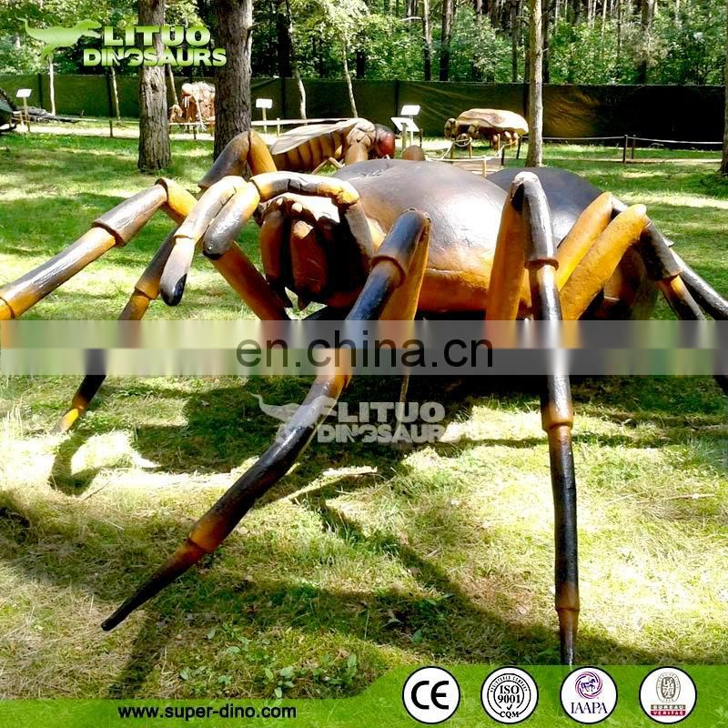 Kids Playground Exhibition Insect Model Large Spider