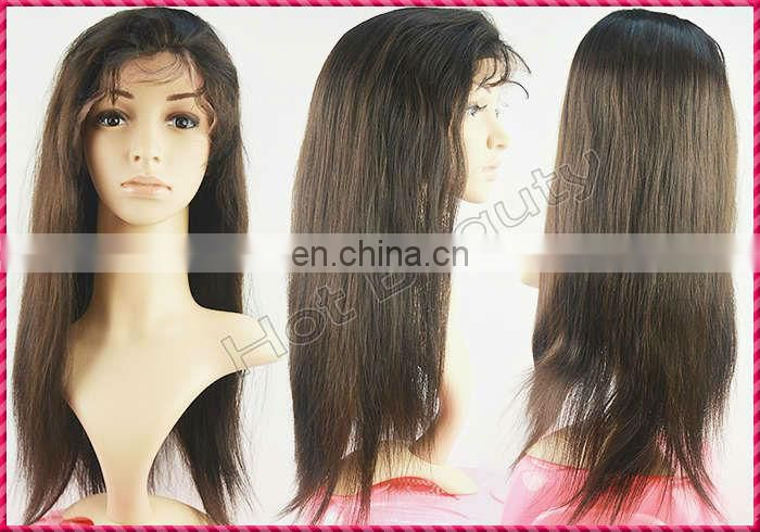 Great Quality Brazilian Virgin Hair Kinky Curl Wig