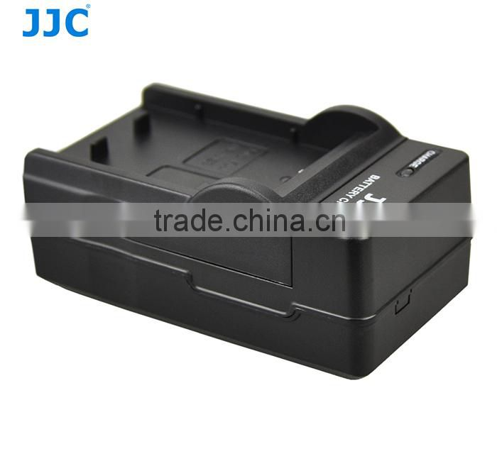 JJC AC Plug 100-240 VAC Power Digital Camera Battery Charger for Canon LC-E6/LC-E6E