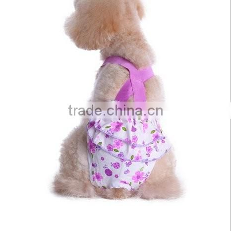 Fashion Cotton Pet Diapers Wraps for Pet Dogs