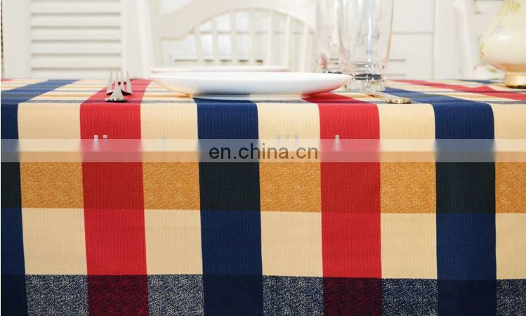 TOP QUALITY CHECKED PATTERN TABLE CLOTH
