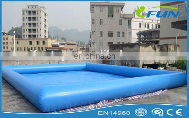 Rectangular swimming pool/inflatable swimming pool